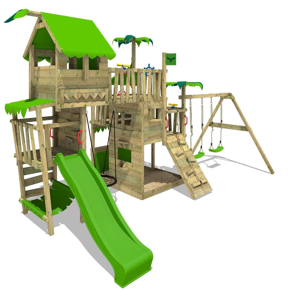 Afbeelding van Speeltoren met glijbaan PacificPearl Pro XXL Speeltoestel