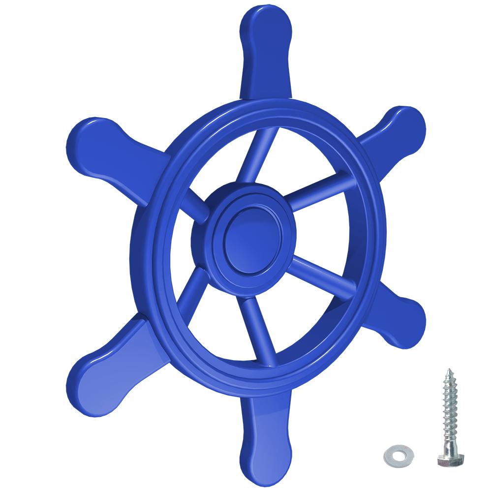 Afbeelding van Piratenstuur stuurwiel stuur SeaPilot voor klimtoren