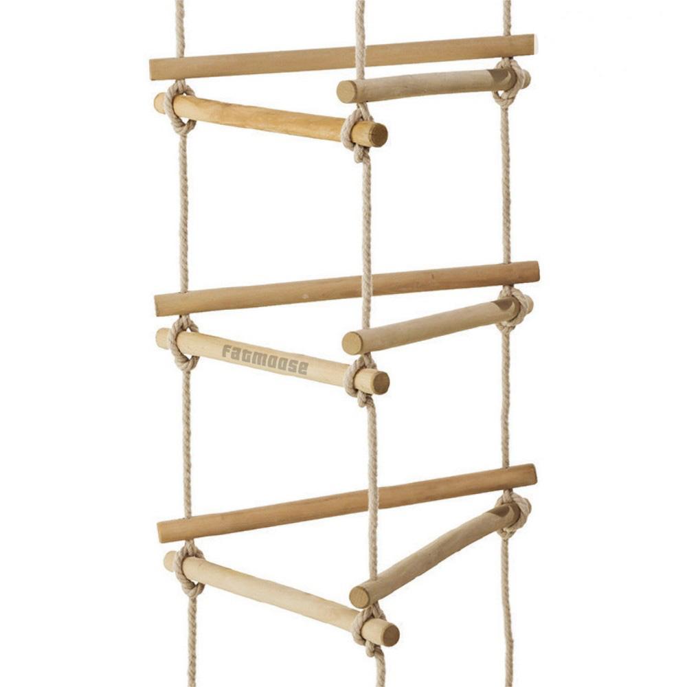 Afbeelding van Touwladder 3 zijden TripleUp voor schommel