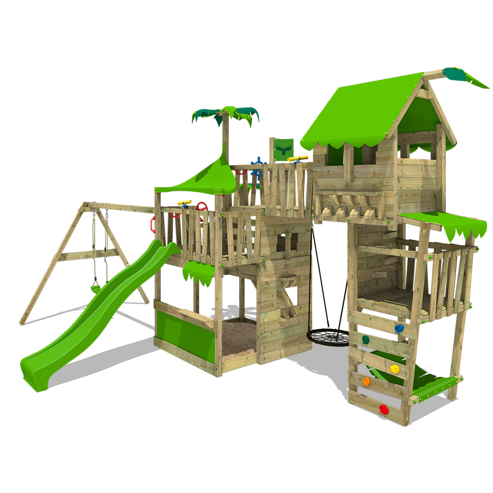 Afbeelding van Kinderspeeltoren TropicTemple Tall XXL