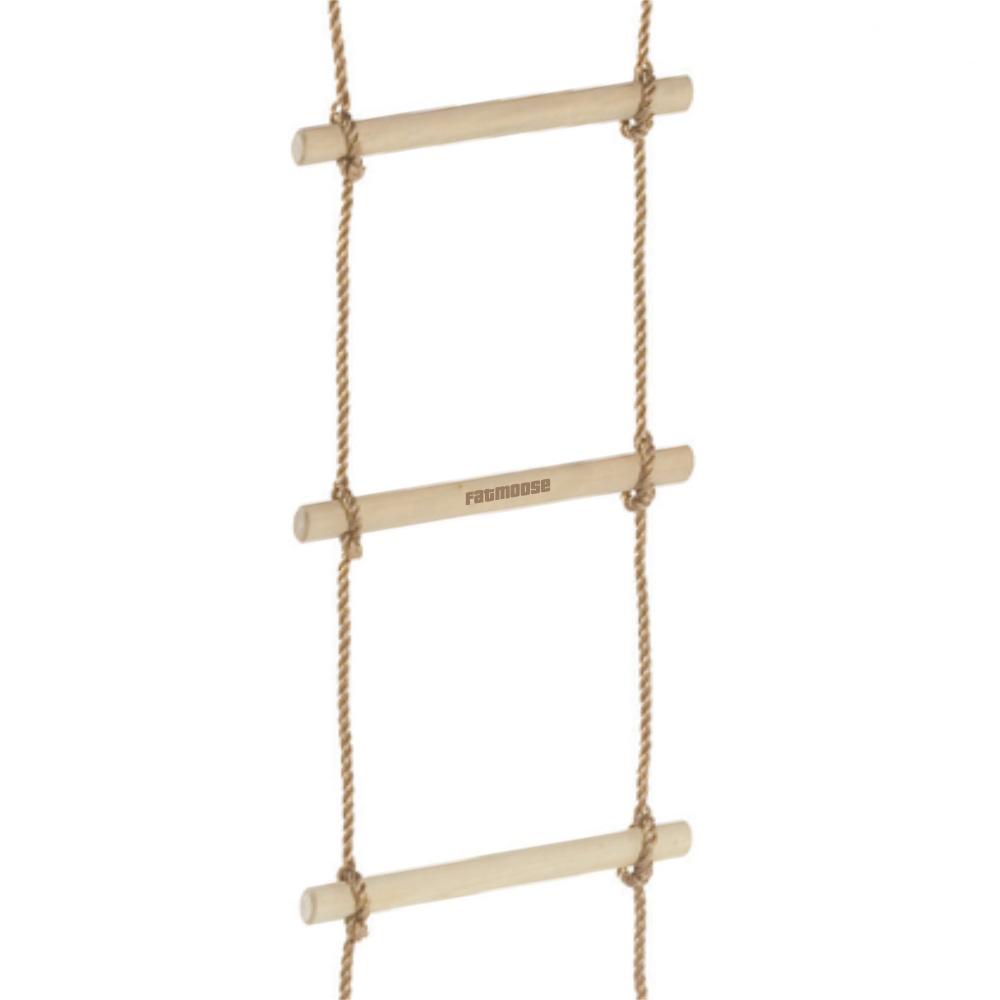 Afbeelding van Wickey Touwladder XL,houten touwladders,klimladder